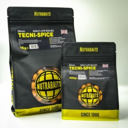 15mm SHELF-LIFE BOILIES Tecni-Spice NUTRABAITS 4fishing