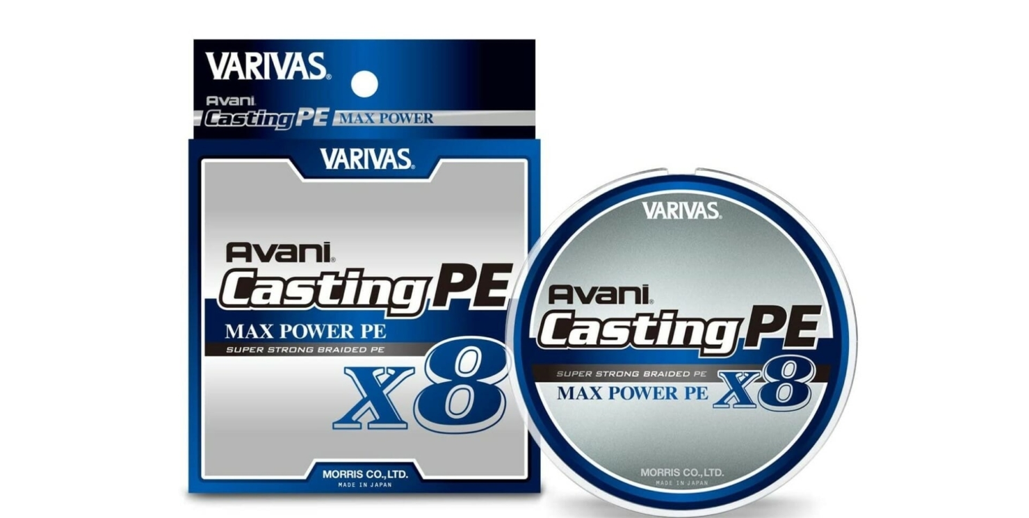 Trecciato Varivas Avani Casting PE x8