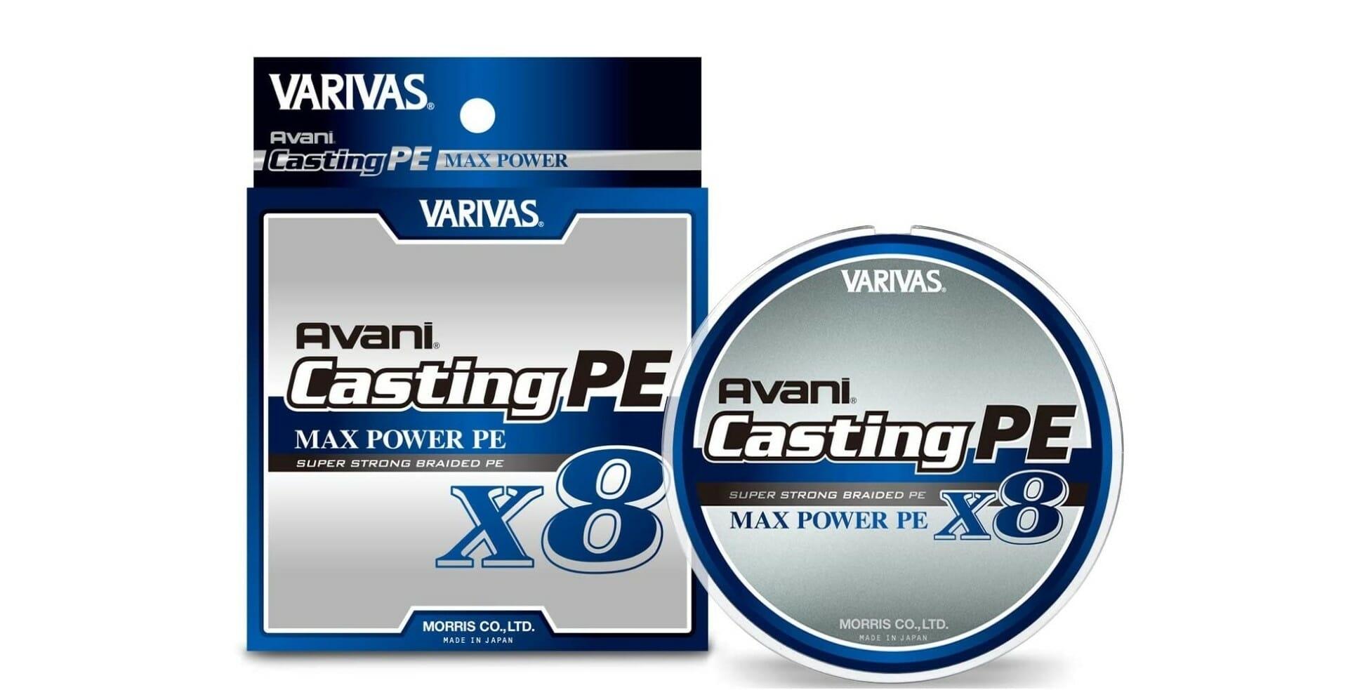 Varivas Avani Max Casting PE x8 4fishing filo pesca