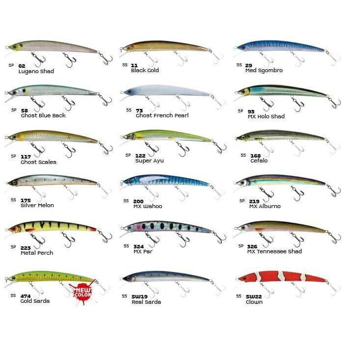 Esca Jerkbait Finder Jerk 110 Suspending Molix 4fishing