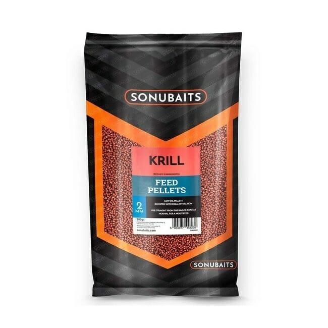 Esca Pellet Krill Feed Pellet Sonubaits 4fishing