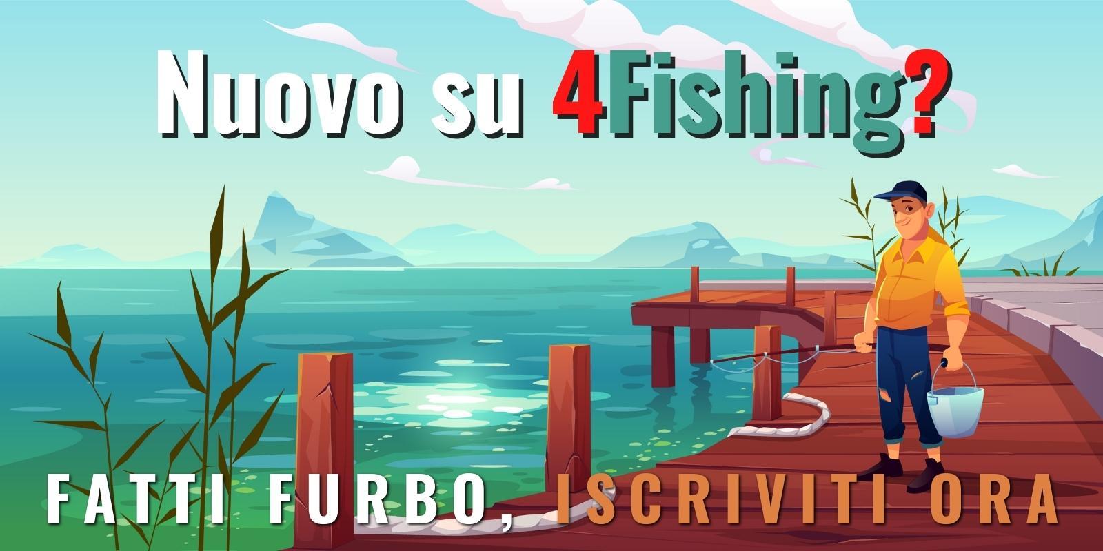 Sconto extra primo acquisto negozio pesca online
